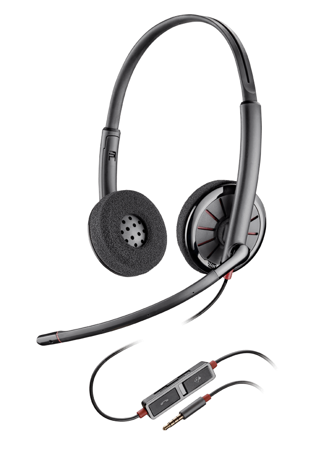 Plantronics BLACKWIRE C225,STEREO HEADSET